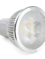 GU10 LED Spotlight MR16 3 High Power LED 310 lm Warm White K Dimmable AC 220-240 V