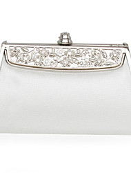 Faux Leather With Gold Hardware Clutch/Evening Bag (More Colors)