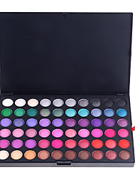 abordables -120 Paleta de Sombras de Ojos Mate / Brillo Paleta de sombra de ojos Polvo Normal Maquillaje de Fiesta