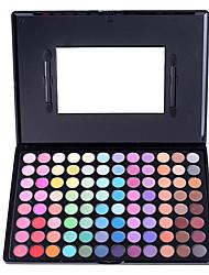 abordables -96 Paleta de Sombras de Ojos Mate Paleta de sombra de ojos Polvo Grande Maquillaje de Hada / Maquillaje de Fiesta