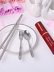 abordables -Herramientas de cocina(Rojo / Lila / Oro) -Tema Asiático / Tema Clásico-Personalizado Acero inoxidable