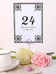cheap -Personalized Table Number Card - Burst