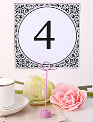 cheap -Square Table Number Card - Faddish