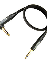 Недорогие -мягкий, гибкий, малое затухание, микро-пузырьков гитарный кабель с пластиковой заглушкой на 6 метров