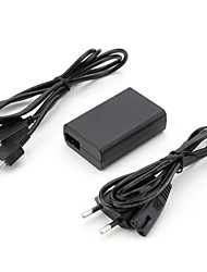 AC Power Adapter for PS Vita with USB Cable (5V, EU) Video Game Accessories