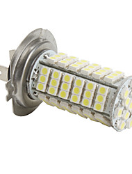 abordables -Ampoule LED Blanche de Voiture (DC 12V), H7 3528 SMD 102-LED