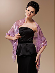 cheap -Silk Party Evening / Office & Career Wedding  Wraps / Shawls With Lace Shawls