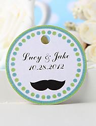 baratos -etiqueta de favor personalizada - bigode (conjunto de 36) favores de casamento lindos