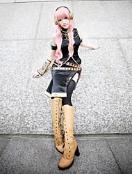 Inspirado por Vocaloid Megurine Luka Vídeo Jogo Fantasias de Cosplay Ternos de Cosplay Sem MangasCasaco / Peitoral / Vestido / Manga /