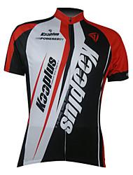 Kooplus Biciklistička majica Muškarci Kratkih rukava Bicikl Biciklistička majica Majice Odjeća za vožnju biciklom Quick dry Prednji