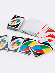 cheap -UNO Card Game Playing Card Family Friend Travel Instruction