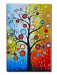 economico -Dipinta a mano Astratto Un Pannello Tela Hang-Dipinto ad olio For Decorazioni per la casa