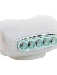 economico -Luce frontale per bici luci di sicurezza LED Ciclismo AAA Lumens Batteria Ciclismo