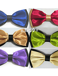cheap -Men's Party Bow Tie - Color Block