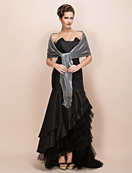 cheap -Satin Party Evening / Casual / Office & Career Wedding  Wraps / Shawls With Shawls