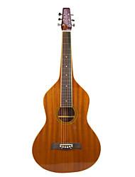 Недорогие -Aiersi - (04WBRG) Фанера Mahogany Weissenborn гитары / Акустические гавайская гитара Слайд с Gig Bag (глянцевая)