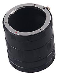 anel tubo de extensão macro para Nikon D5300 ai af D5200 D5100 D3200 D3100 d3300 e mais