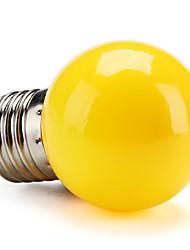 cheap -0.5W 100 lm E26/E27 LED Globe Bulbs G45 leds High Power LED Yellow AC 200-240V
