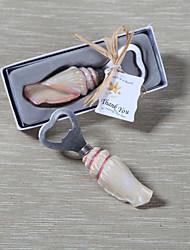 Недорогие -Открывалка для бутылок в форме ракушки