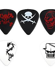 Недорогие -NNPICK - (CSA-1-5) композитного пластика стандартной формы Guitar / Bass Picks/5-pack (различных конструкций)