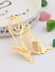 cheap -Wedding Anniversary Bridal Shower Zinc alloy Bookmarks & Letter Openers Butterly Theme