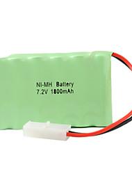 abordables -7.2V 1800mAh Recargable Ni-MH AA Batería pcs
