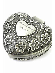 cheap -Personalized Elegant Heart-shaped Decorative Pattern Tin Alloy Women's Jewelry Box