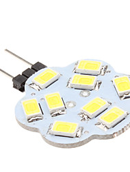 2W G4 LED Bi-pin Lights 9 SMD 5630 200-250lm Natural White 6000K DC 12V
