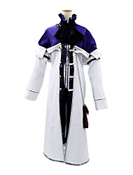 cheap -Inspired by Pandora Hearts Xarxes Break Anime Cosplay Costumes Cosplay Suits Patchwork Long Sleeves Cravat Coat Shirt Shorts For Men's