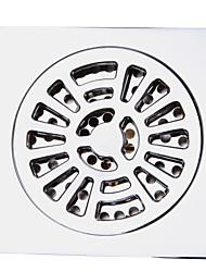 رخيصةأون -حمام ملحق المعاصرة لمسات من الكروم النحاس الصلب الطابق استنزاف LK-1065
