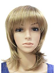 Kvinder Syntetiske parykker Ret Brun Blond Kastanje Kostumeparyk