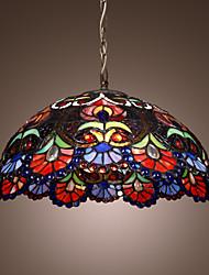 Недорогие -2-Light Подвесные лампы Потолочный светильник Хром Стекло Мини 110-120Вольт / 220-240Вольт / E26 / E27