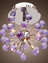 cheap -6-Light Chandelier / Flush Mount Uplight - Crystal, Mini Style, Bulb Included, 220V / 110-120V / 220-240V Bulb Included / G4 / 20-30㎡
