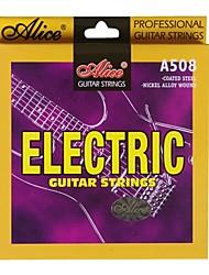 billige -Alice - (A508-L) belagt stål Elektrisk Guitar Strings (010-046)