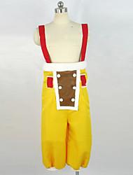 billige -Inspireret af En del Usopp Anime Cosplay Kostumer Cosplay Kostumer Uden ærmer Bukser Armbånd Til Herre