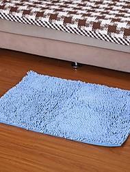 elaine Faser Wasserabsorptionsrutschfesten Teppich (50 * 80cm, blau)