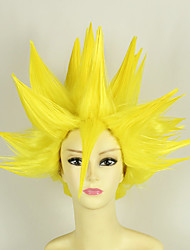 Cosplay Wigs Dragon Ball Vegeta Anime Cosplay Wigs 35 CM Heat Resistant Fiber Male