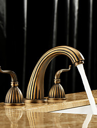 Antique Brass Bathroom Faucet Lightintheboxcom - Brushed brass bathroom faucets