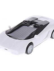 Solar Power Mini Racing Car (White)