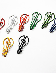 cheap -Bulb Style Colorful Paper Clips (10PCS)