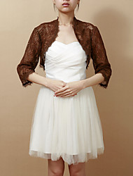 cheap -Lace Wedding / Party Evening Wedding  Wraps With Coats / Jackets