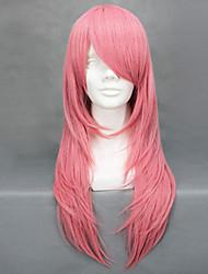 Perruques de Cosplay Reborn! Bianchi Rose Moyen Anime Perruques de Cosplay 65 CM Fibre résistante à la chaleur Féminin