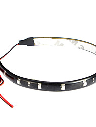 LED Light Strips 30CM, Red/White/Blue-Ray