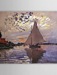 abordables -Pintada a mano Famoso Un Panel Lienzos Pintura al óleo pintada a colgar For Decoración hogareña