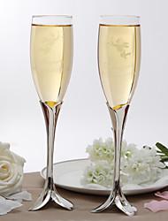 billige -Personlig Elegant Petal Design Stem toasting Flutes