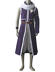 Inspirado por Fairy Tail Natsu Dragneel Anime Fantasias de Cosplay Ternos de Cosplay PatchworkCasaco Calças Acessórios de Cintura Cinto