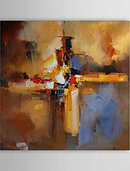 cheap -Hand-Painted Abstract Square Canvas Oil Painting Home Decoration One Panel