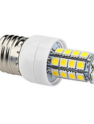 E26/E27 LED Corn Lights T 34 SMD 5050 320lm Natural White 6000K AC 220-240V