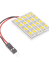 preiswerte -Girlande T10 BA9S Auto Warmweiß 4W SMD 5730 2800-3300 Lese Lampe