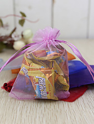 cheap -Creative Organza Favor Holder with Pattern Favor Bags - 24